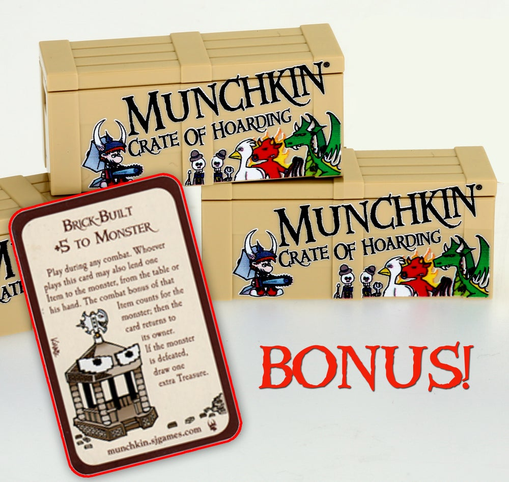 Image of Special MUNCHKIN Crate Of Hoarding