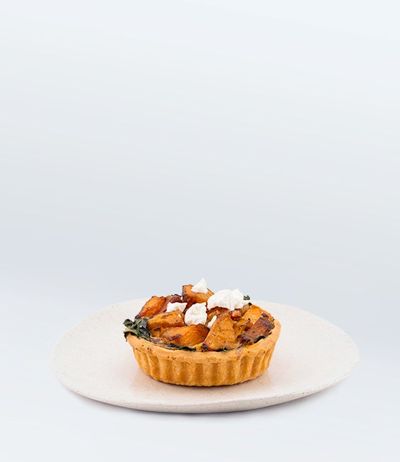 Image of Pumpkin & Goats Cheese & Bacon Quiche<br>(More Sizes Available)
