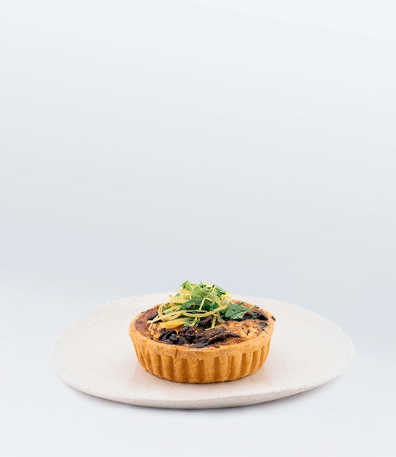 Image of Mushroom Quiche (V)<br>(More Sizes Available)