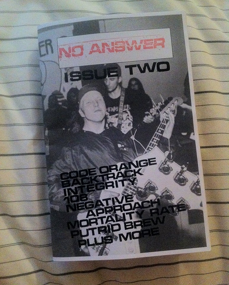 Image of NO ANSWER: ISSUE TWO FALL 2015