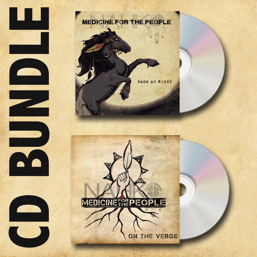 Image of CD + Digital Download Bundle: Dark as Night + On the Verge