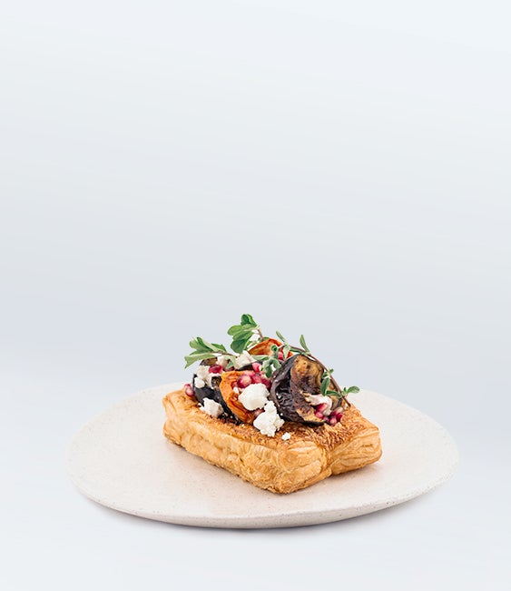 Image of Aubergine Galette (V)<br>(More Sizes Available)