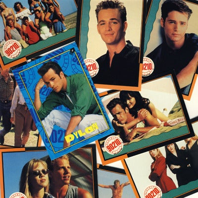 Image of BEVERLY HILLS 90210 TRADING CARDS - 1991