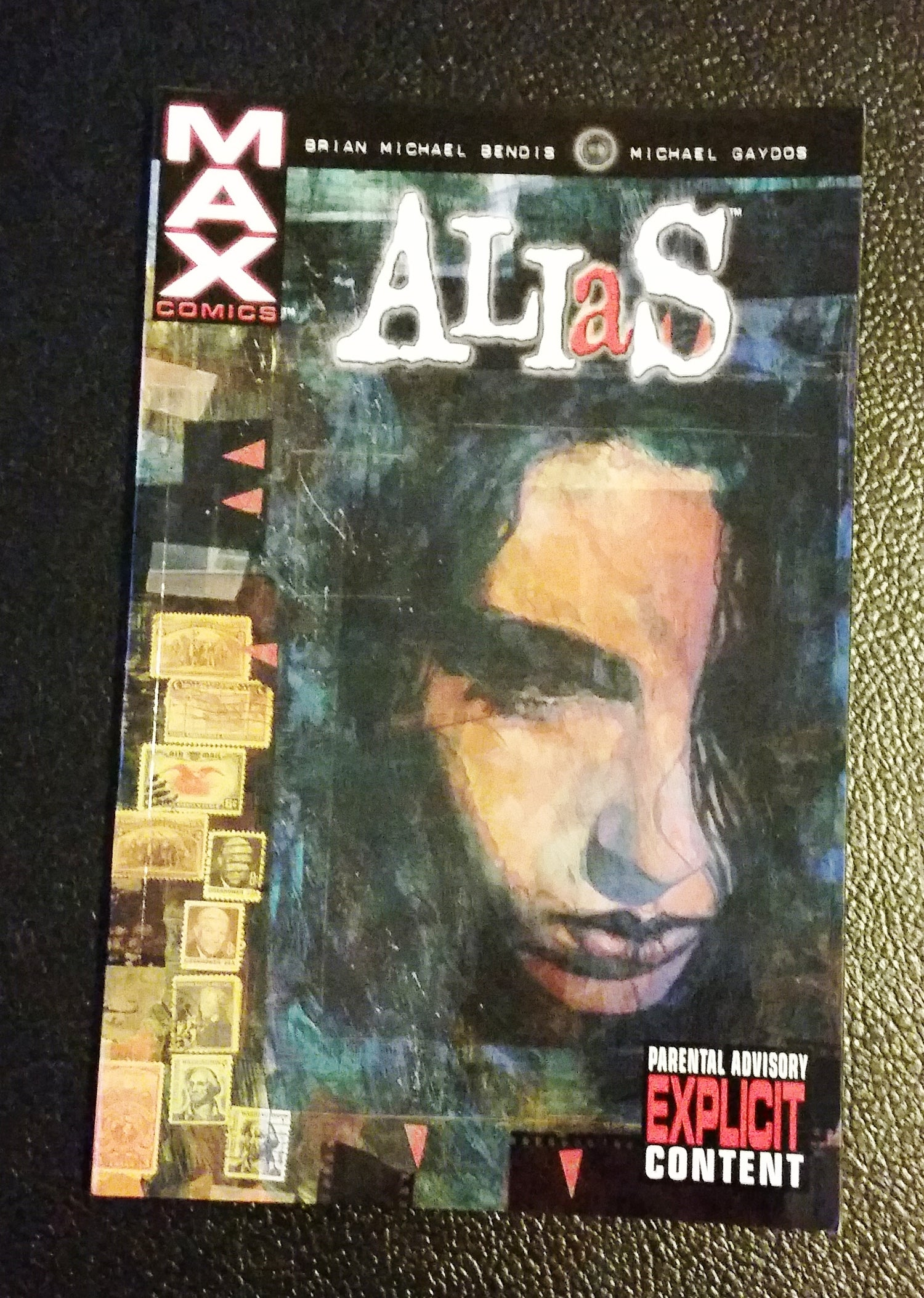 Image of ALIAS, Vol.1 (2003) signed and remarked by Michael Gaydos