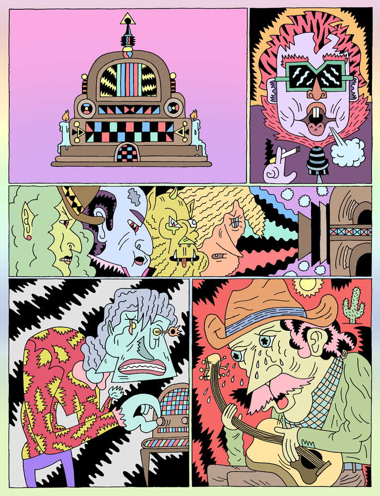 Image of Lumpen #126  3rd Annual Comics Issue