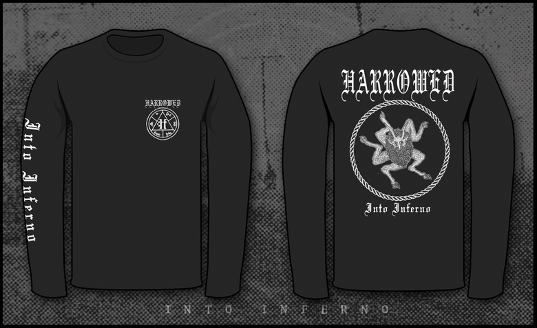 "Image of HARROWED ""Into Inferno"" Longsleeve"