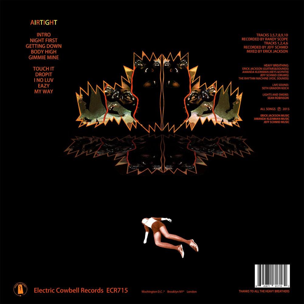 Image of Heavy Breathing - Airtight LP (ECR716)