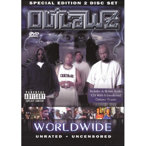 Image of OUTLAWZ WORLDWIDE DVD VOL.1 - ORIGINALLY RELEASED IN 2002