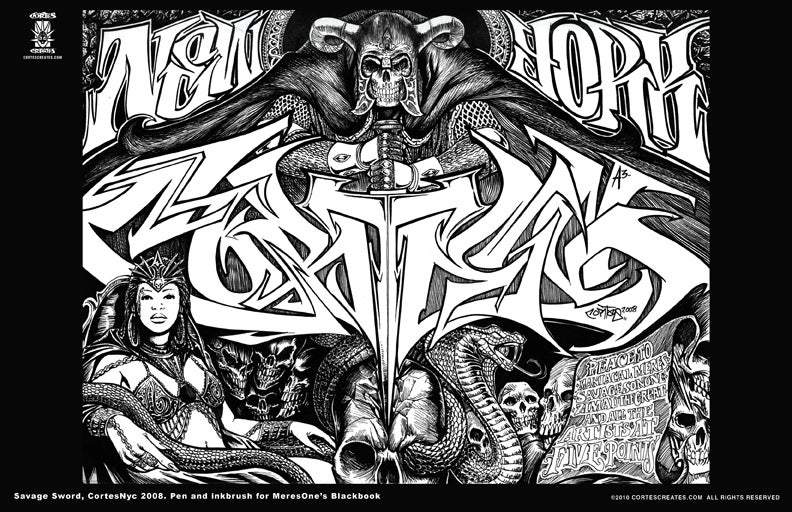 Image of Savage Sword (MiniPoster)