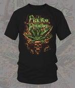 "Image of Pick Axe Preacher: ""Marijuana Skull T-Shirt"""