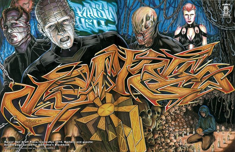 Image of Raisin' Hell (MiniPoster)