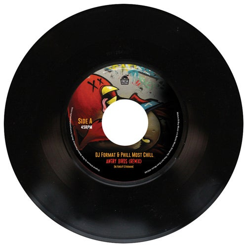 "Image of DJ Format & Phill Most Chill - Angry Birds (Remix) 7"" (FPI005)"