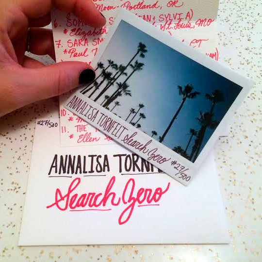 Image of Annalisa Tornfelt | Search Zero | Polaroid + Digital