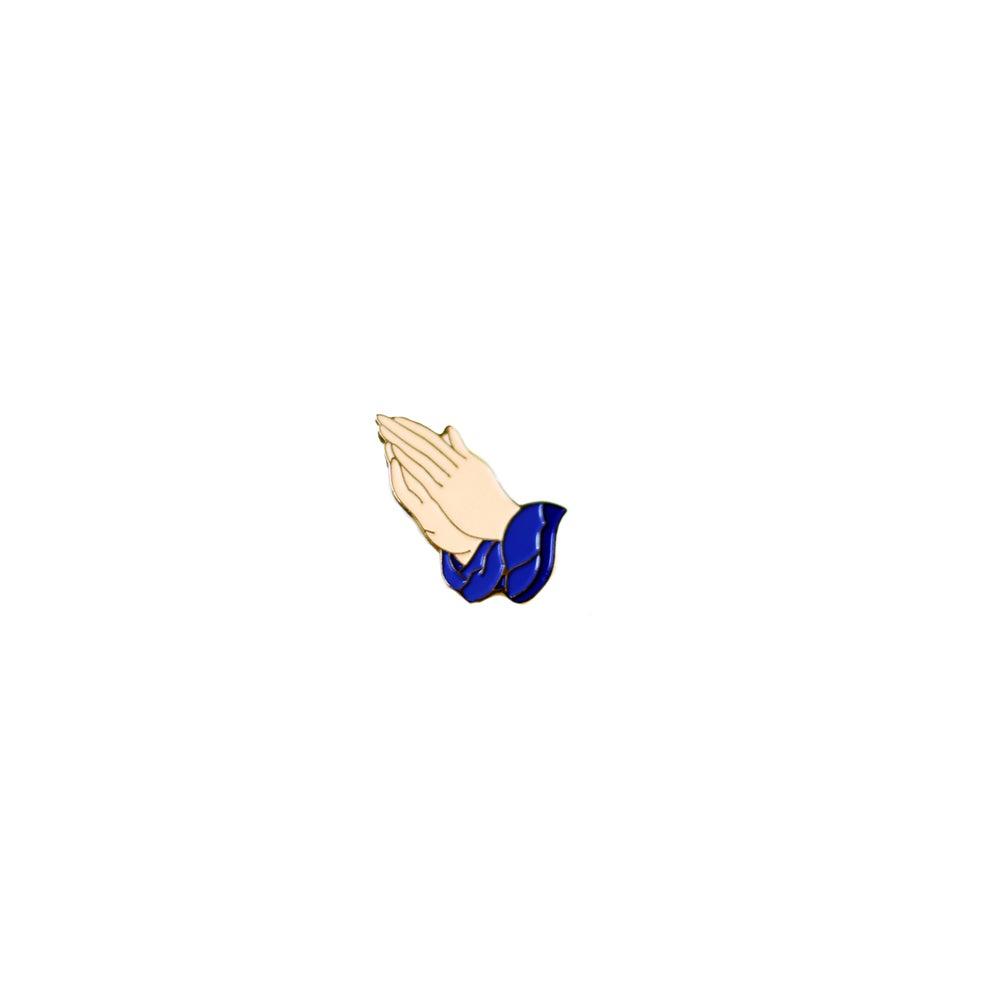"""Image of """"Praying Hands"""" Lapel Pin"""