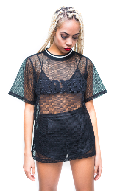 Image of XOXO Mesh Tee
