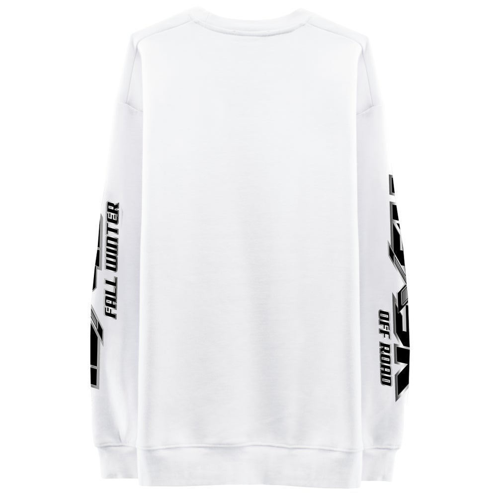 Image of OFF ROAD Sweatshirt - White