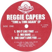 """Image of REGGIE CAPERS """"TIME & TIME AGAIN"""" EP"""