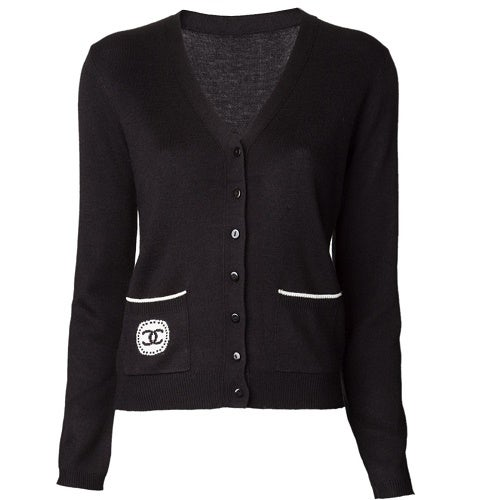 Image of SOLD OUT Chanel Uniform Cardigan - Authentic Brand New Vintage Staff Uniform Made in France