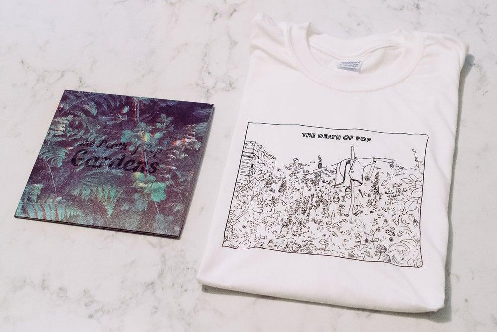 "Image of Gardens 7"" & T-Shirt"