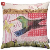 Image of Hummingbird Hover 16x16 Pillow