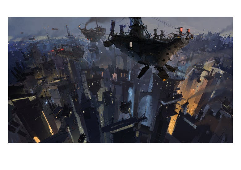 Image of 'Nightboat' Print