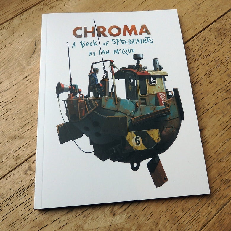Image of 'Chroma' - A book of Speedpaints by Ian McQue