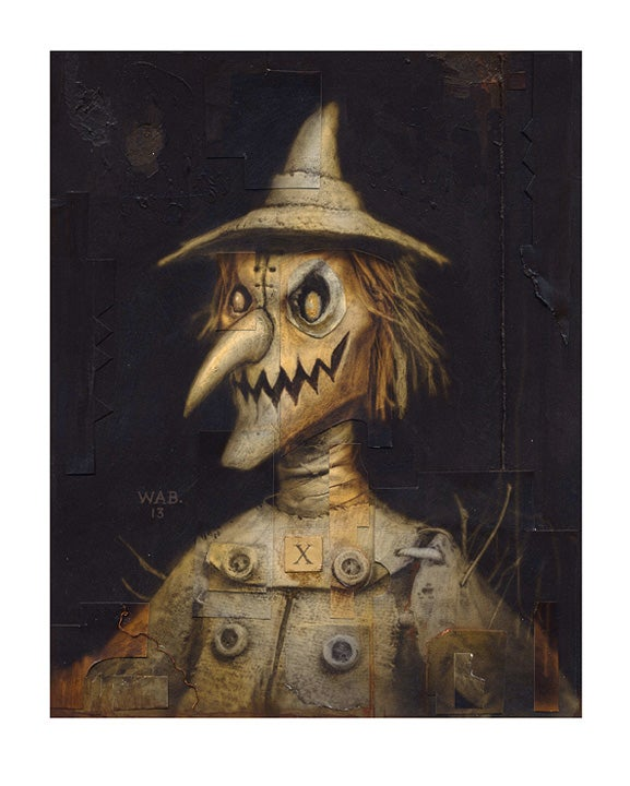 """Image of """"Autumnal Effigy 3"""" Limited Edition print"""