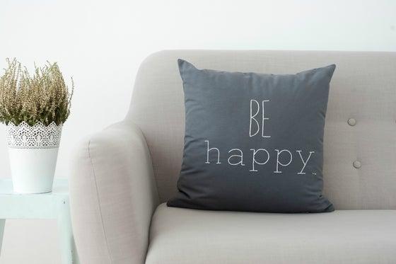 Image of Cojín BE HAPPY (Funda)