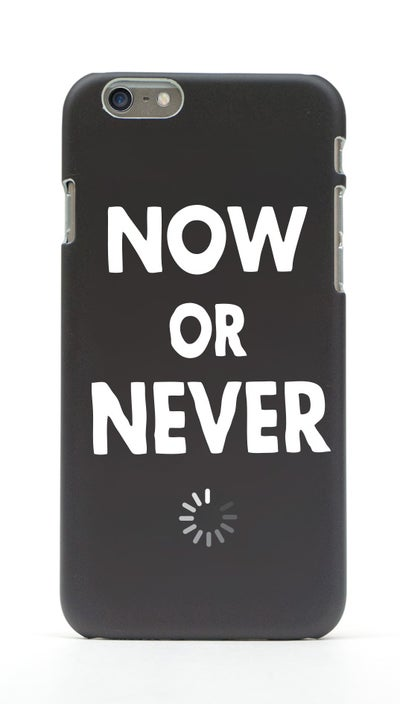 Image of NOW OR NEVER