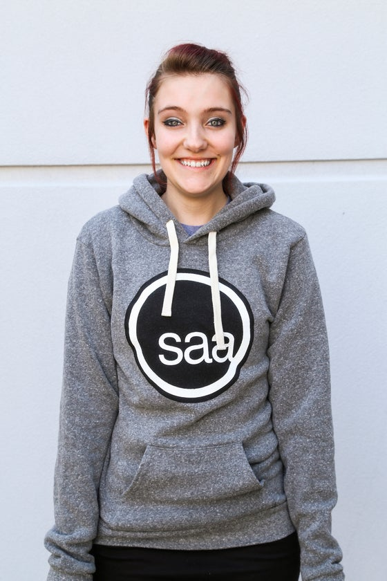 Image of SAA Logo Pullover - Grey