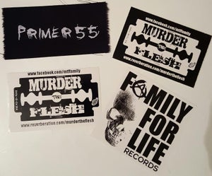 Image of P55 PATCH/STICKER PACK