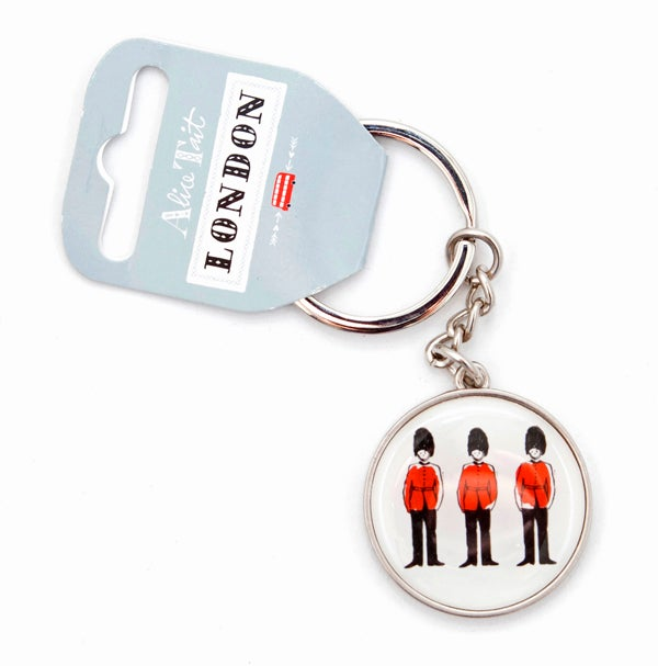 Alice Tait 'London Guards' Keyring - Alice Tait Shop