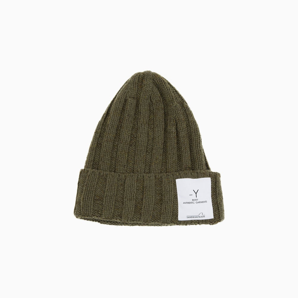 Image of bluey Wool Watch Cap - KHAKI