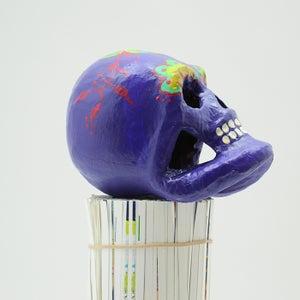 Image of Purple Sugar Skull