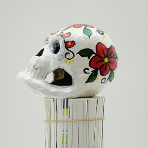 Image of White Sugar Skull