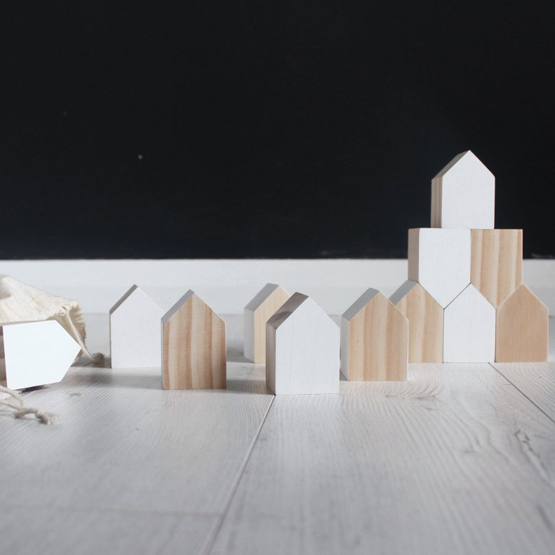 Image of Little houses set