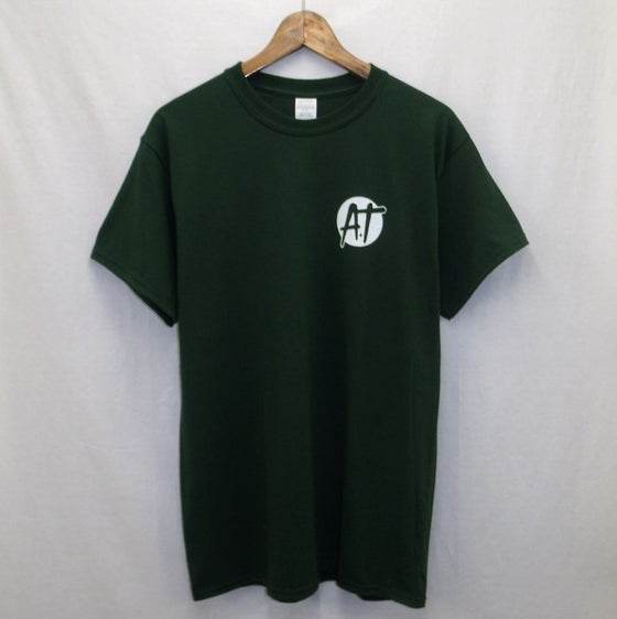 Image of Dark green AT logo t-shirt