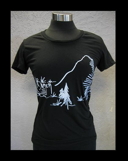 Image of Ladies Mt. Baker Tee