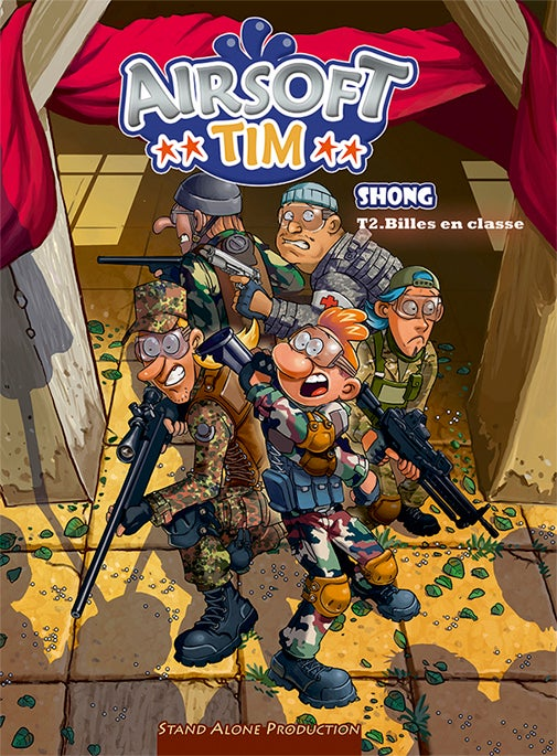 "Image of Airsoft TIM : tome 2 "" Billes en classe """