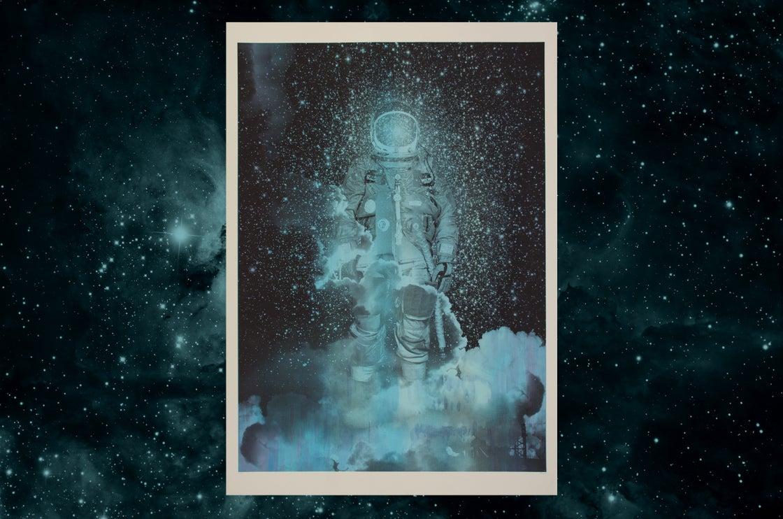 Image of Spaceman / silkscreen poster