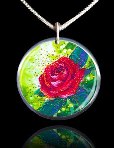 Image of The Sacred Rose Energy Pendant