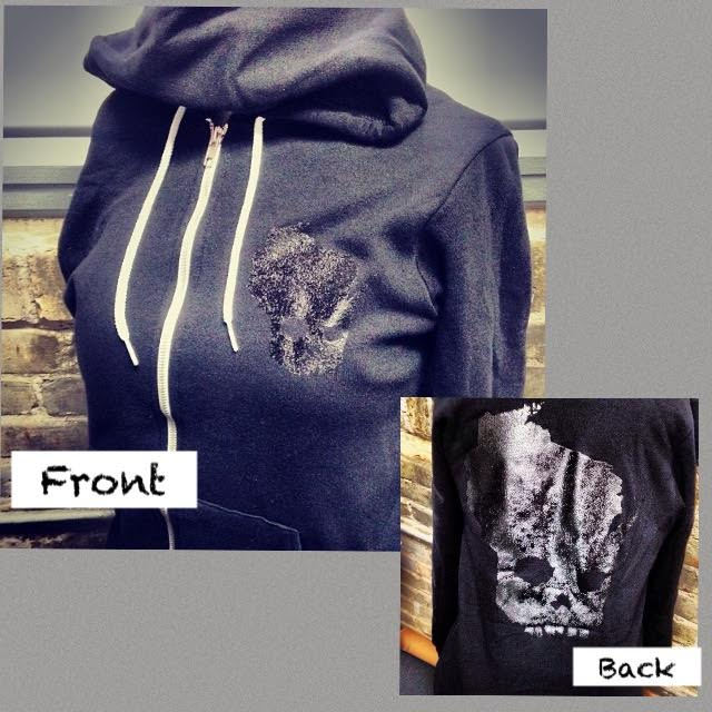 Image of Black-on-Black Hoodie (Unisex)