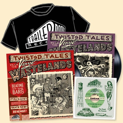 "Image of Vinyl Wastelands - Limited Edition Bundle!  [2xLPs / 7"" Single / T-Shirt]"
