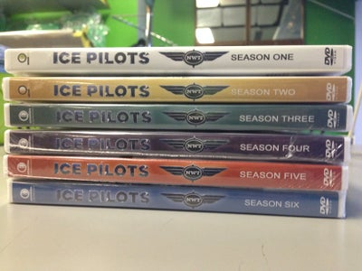 Image of DVD set Ice Pilots NWT Season 1-4, 1- 5 & 1-6