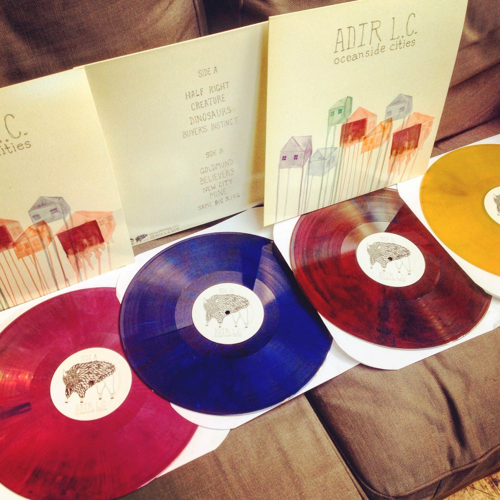 "Image of Oceanside Cities 12"" Colored Vinyl"