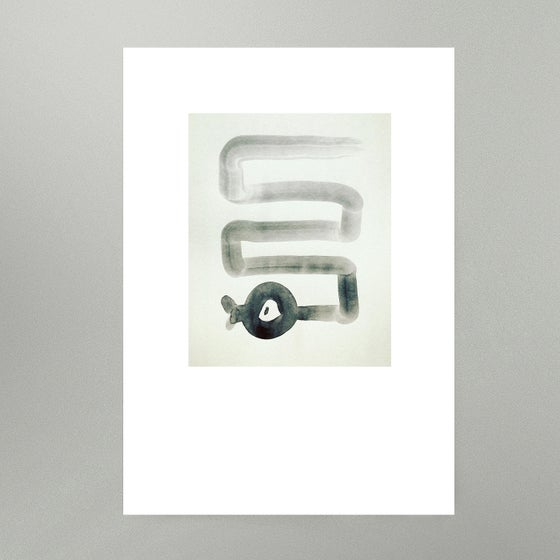Image of By Hand : Paul's Snake Art Print