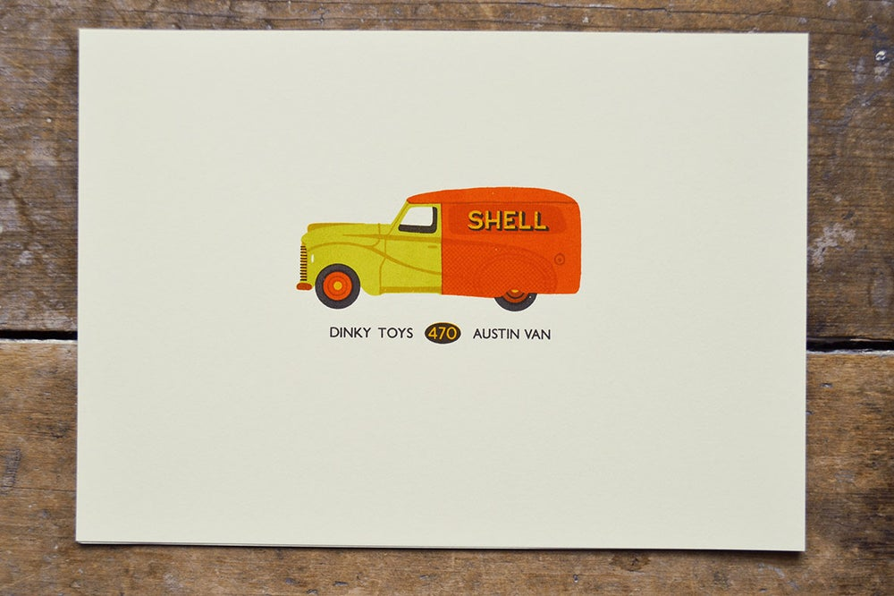 Image of Dinky Toys Shell Van 50% Off