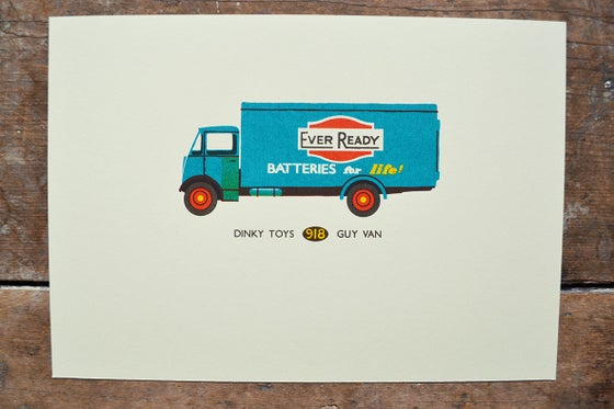 Image of Dinky Toys Ever Ready Van
