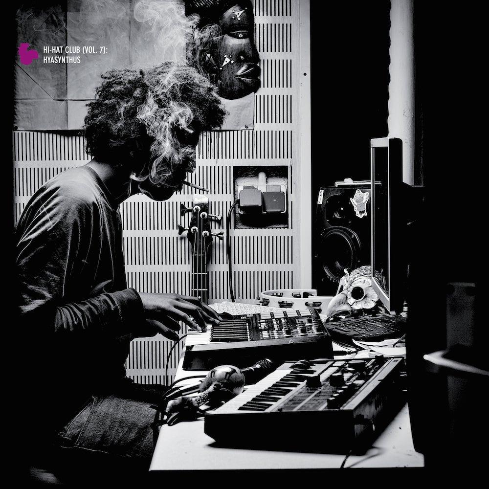 Image of Knowsum - Hi-Hat Club Vol. 7 - Hyasynthus - LP (MELTING POT)