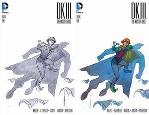Image of DKIII Batman #1 BRIAN STELFREEZE Sketch B&W & Color Variant SET